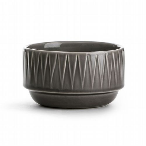 Stackable Breakfast Bowl - Grey